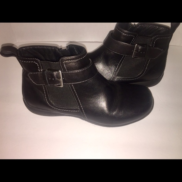 official supplier competitive price timeless design Vionic Shoes | Adrie Black Leather Ankle Boots Size 8 | Poshmark